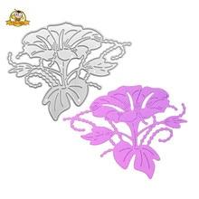 Flower Dies Cut Metal Cutting Stencils For DIY Scrapbooking Decorative Embossing Handcraft Die Template