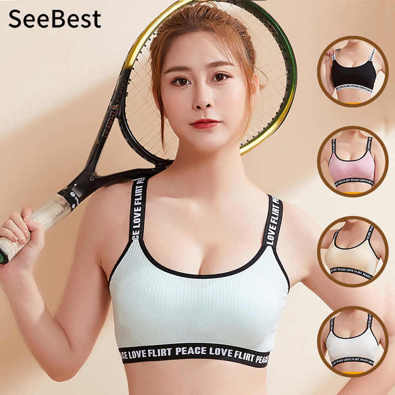 Seebest Wirefree Bh Top Vrouwen Brief Cropped Shirt Ondergoed Bustier Yoga Sport Homewear Tops Korte Tops Hemdje