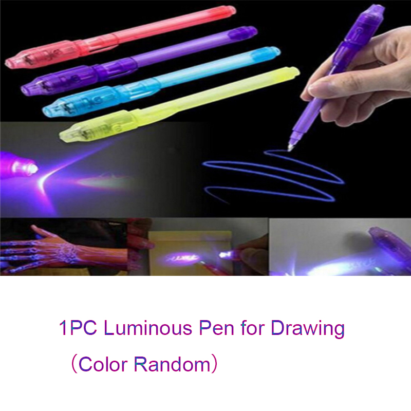 Fluorescent Light Writing Pad  Drawing Painting Board Educational Kids Child Toy Dropshipping