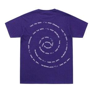 Летняя мужская футболка в стиле хип-хоп с круглым вырезом, хлопковая футболка с короткими рукавами и надписью «GINGER Take The Odds»