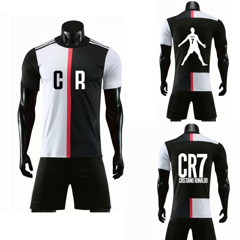 2020 RONALDO CR7 Shirts And Shorts Customize DIY  MEN Kids Boy Girl Hip Hop Short Sleeve T Shirt Men For Fans Shirt