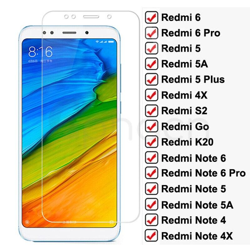 9D полноэкранное Защитное стекло для Redmi Note 6 5 5A 4 4X Pro для Xiaomi Redmi 5 Plus 5A 6 6A 4X S2 Go K20, пленка из закаленного стекла
