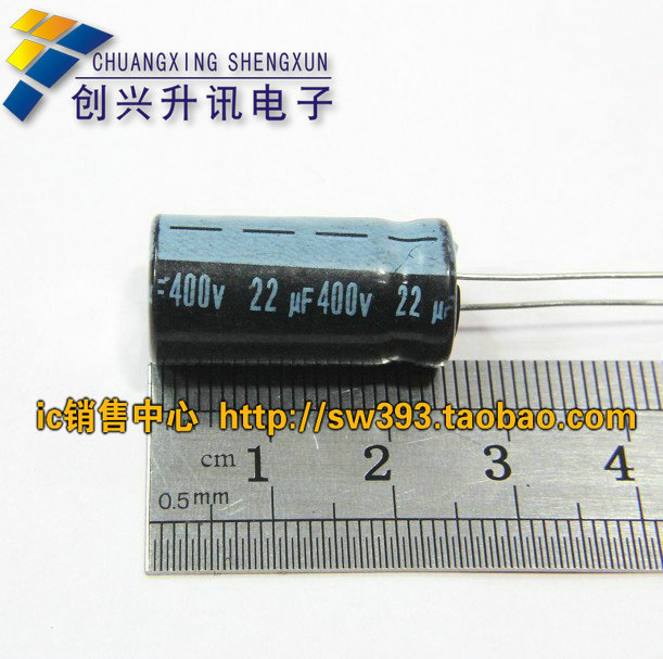 Free Delivery.<font><b>400V22UF</b></font> 22UF400V new high-quality electrolytic capacitors image