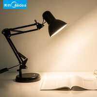 Schönheit FÜHRTE Schreibtisch Lampe Augenschutz Schreibtisch Student Wohnheim Falten Haushalt Schlafzimmer Nacht Gelb Licht Plug in Typ B-in Nachtlichter aus Licht & Beleuchtung bei