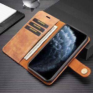 Image 4 - עבור iPhone 12 6s 7 8 בתוספת X XS MAX XR 11 פרו מקסימום עור ספר Stand ארנק להסרה מגנטי 2 ב 1 נשלף כרטיס כיסוי מקרה