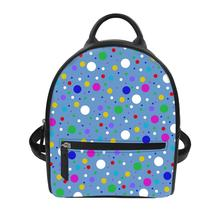 Women's luxury backpacks Dot pattern Print Bagpack Casual Anti Theft Backpack for ladies travel backpack