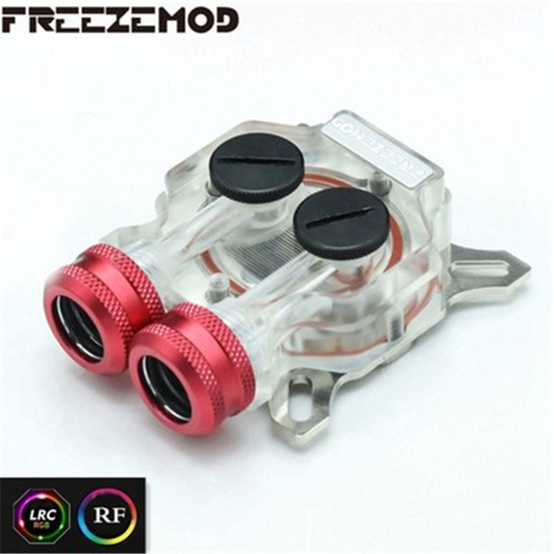 FREEZEMOD Computer <font><b>RGB</b></font> Video Card <font><b>GPU</b></font> Core Cover Suitable For 43mm-53mm Hole Pitch Water Cooling Block. VGA-TMD image