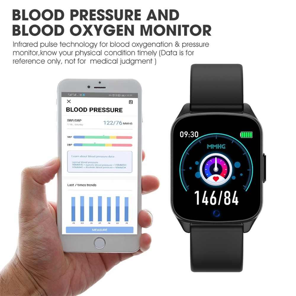 2019 Smartwatch dla Xiaomi Android apple ios telefon bransoletka fitness nocny monitor pracy serca KW17 inteligentny zegarek PK Amazfit Gts
