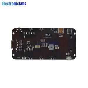 Image 5 - Dual 18650 Lithium Batterie Schild V8 3V1A 5V 3A Micro USB Power Bank Batterie Lade Modul Für Raspberry Pi wifi ESP8266 ESP32