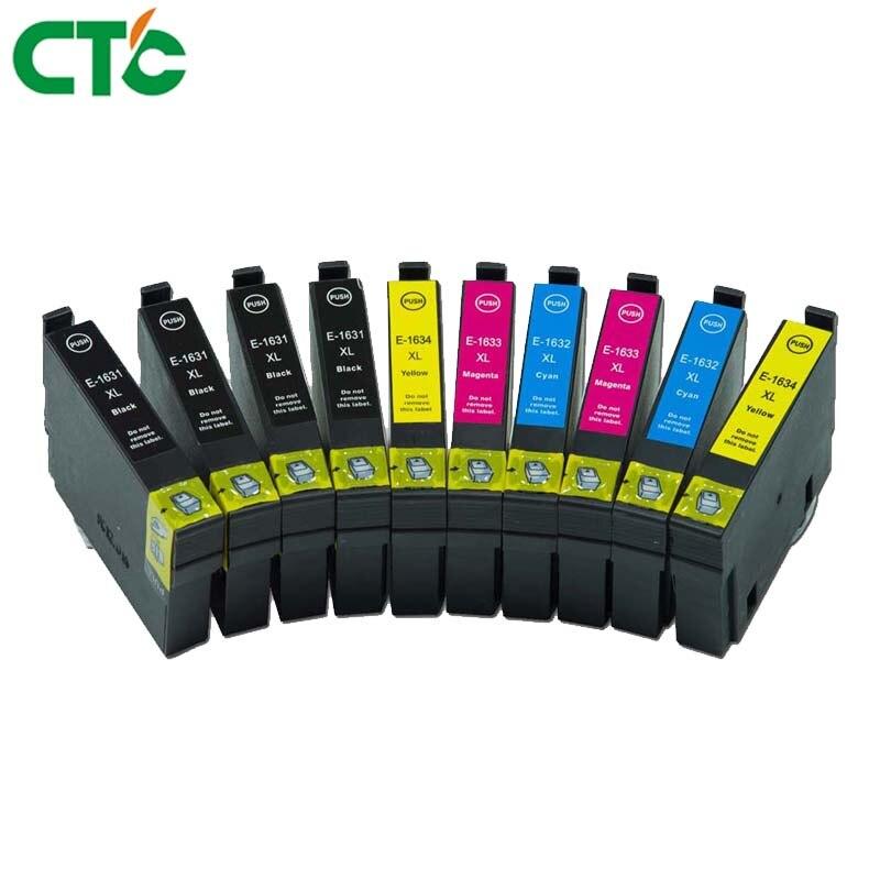 T1631 T1621 16 16XL cartucho de tinta Compatível para Epson WorkForce 2010 2510 2520 2530 2540 2630 2650 2750 2660 2760 impressora