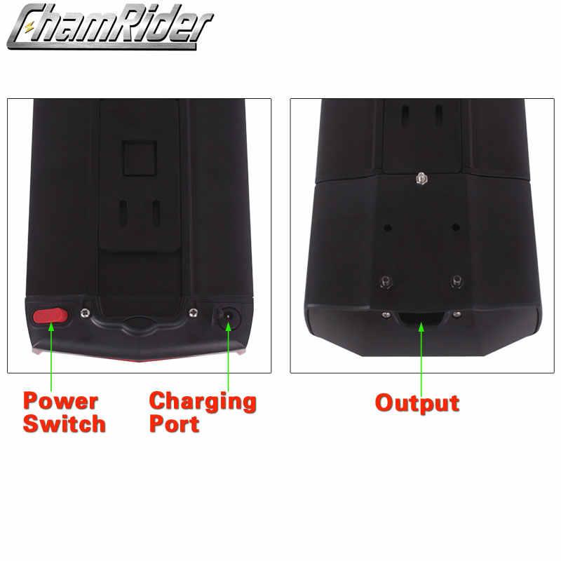48V чехол для зарядного устройства к электро-мопеду е-байка 36В Электрический велосипед контейнер под элемент питания Reention двойной Слои багажная сетка 10S5P 13S4P RB-3-Plus
