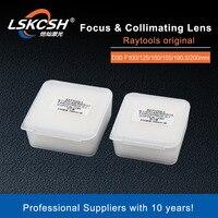 LSKCSH Raytools Original Fiber Laser Focus Collimating Lens D30 F100 125 150 155 190.5 200mm 0 6KW for Bodor Ratyools BM111 110