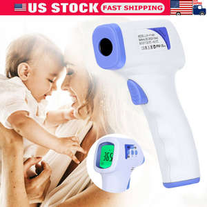 Thermometer-Gun Fever-Measuring-Instrument Digital Infrared Forehead Baby Electronic