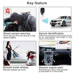 Image 5 - Auto Alarm Fahrzeug System 1 Weg Remote Zentrale Türschloss Keyless System Mit 2 Fernbedienung Einbrecher Schutz Sicherheit system