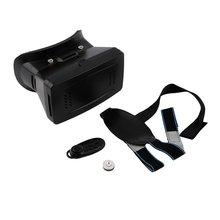 цена на 3D Virtual Reality VR Video Glasses Cardboard +Gamepad Control VR Headset Box Goggles Headset Helmet for 3.5-6 inch Smart Phone