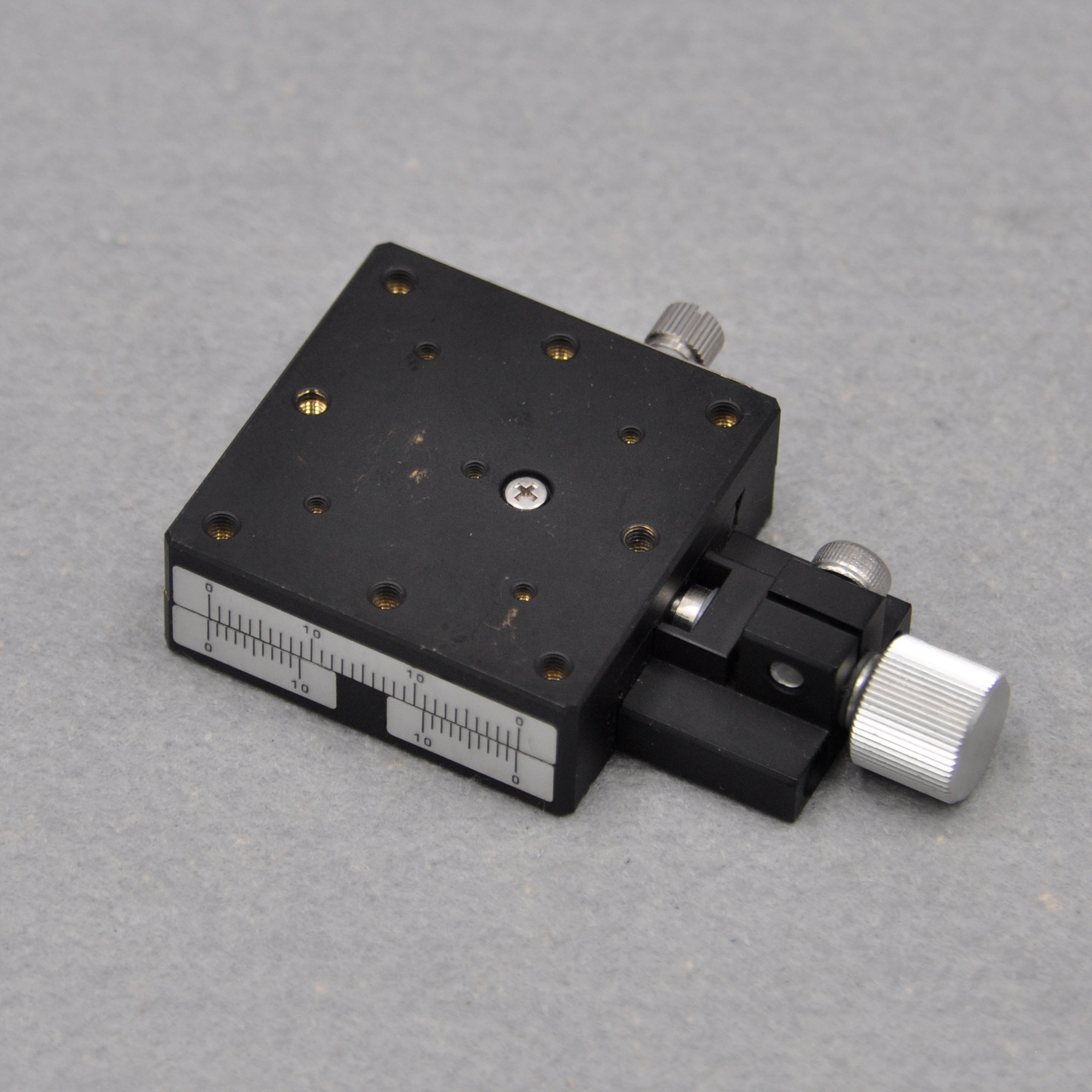 Misimi XEGCL40 Y-axis Optical Manual Precision Screw Dovetail Groove Fine-adjustment Displacement Slide Stroke Copper
