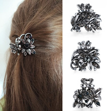 Gorgeous Rhinestones Small Flower Hair Clips