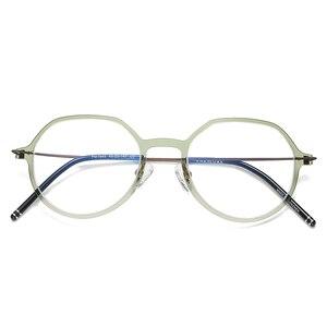 Image 5 - Reven Jate Männer und Frauen Unisex Mode Optische Brille Hohe Qualität Brille Optische Rahmen Brillen 1849