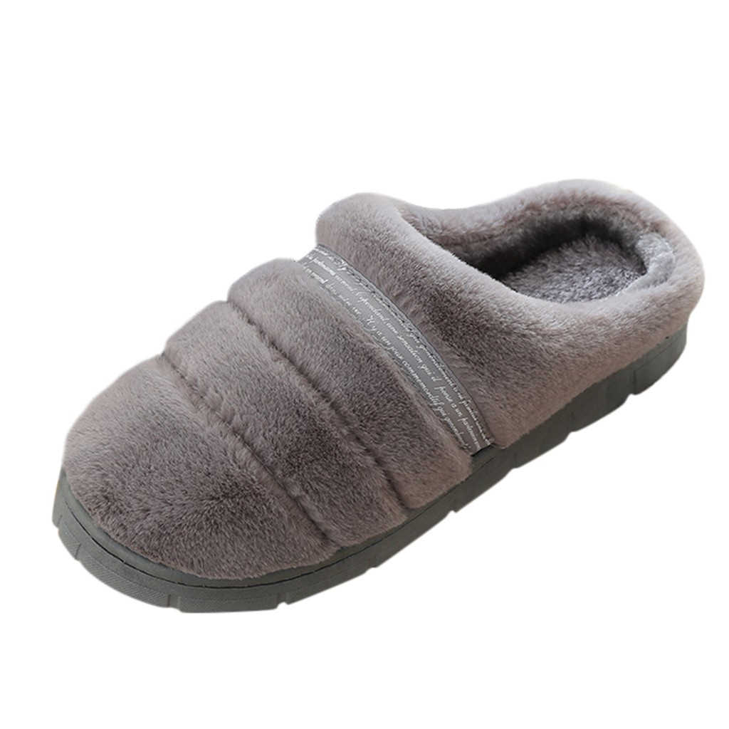 Shoes Men Home Slippers Casual Warm Indoor Floor Slippers Winter Fashion Simple Design Men Shoes Slipper 2019 Zapatos Hombre