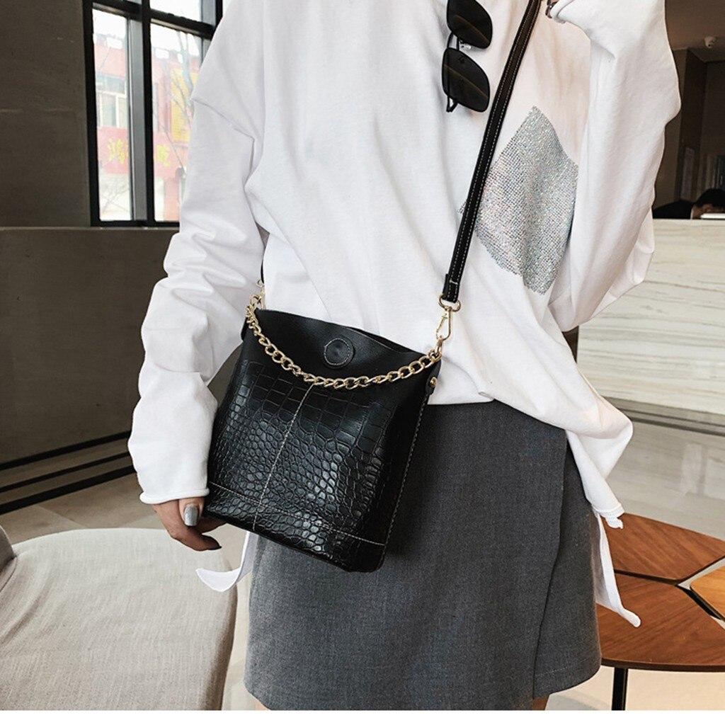 40* Women's Bag 2019 New Bucket Bag Chain Mobile Wild Shoulder Messenger Bag Luxury Handbags Women Bags Designer Small Bag