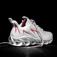 Big Size 45 46 Blade Bounce Men Sneakers Autumn Outdoors Breathable Sports Running Shoes for Man Sport Used on Treadmill