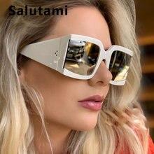 Солнцезащитные очки с заклепками для мужчин и женщин брендовые