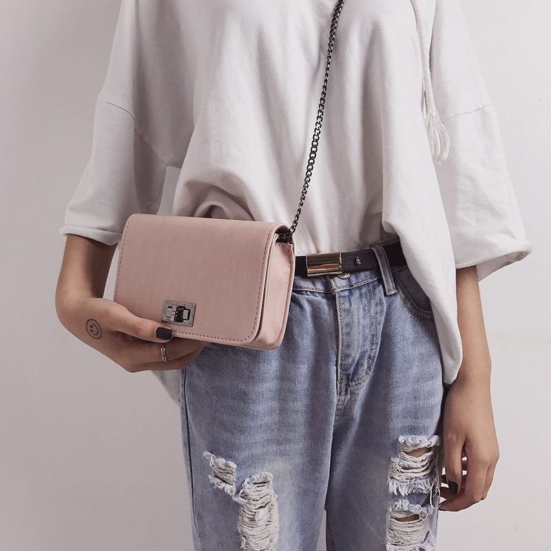 Worean Shoulder Bag Luxury Handbags Women Bags Designer Version Wild Girls Small Square Messenger Bag Bolsa Feminina
