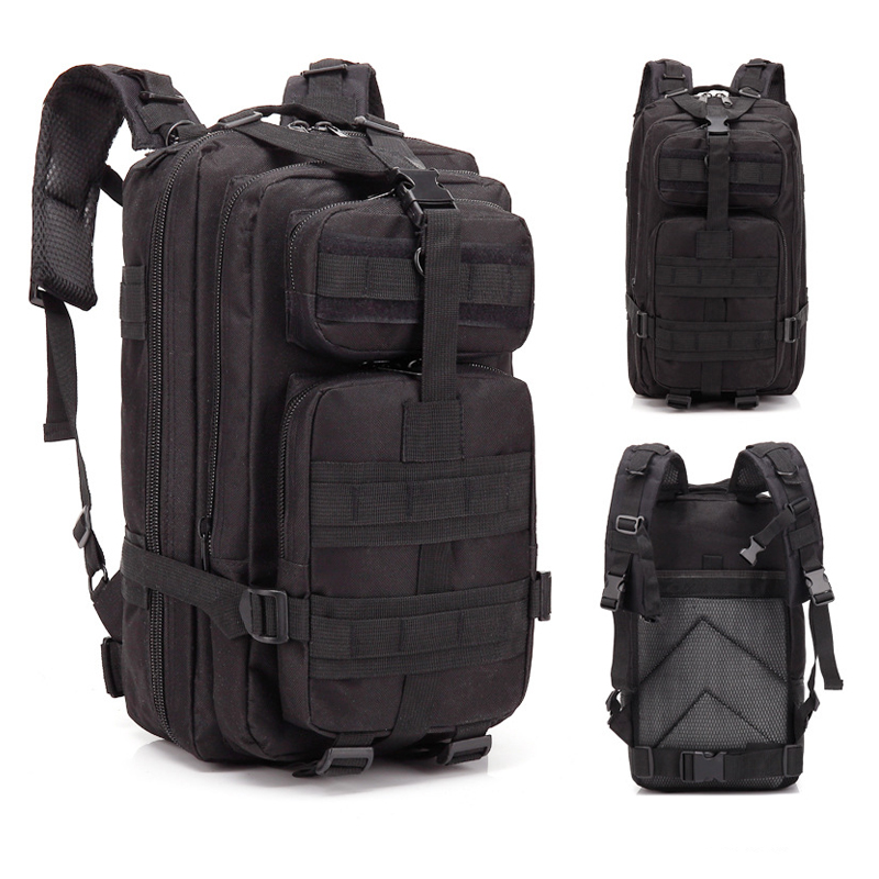 3P Tactical Backpack Military Molle Army Bag Outdoor Hiking Camping Rucksack Traveling Shoulder Bag About 30L