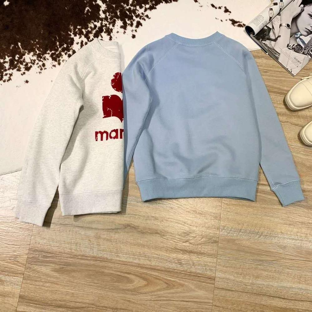New Spring 2020 Loose Casual Round Neck Flocking Printing Plus Plush Long Sleeve Sweatshirt Women Hoodies Pullover I1  L1