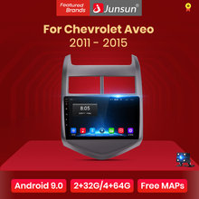 Junsun V1 2G + 32G Android 9.0 Per Chevrolet Aveo 2 2011-2015 Auto Radio Multimedia Video lettore di Navigazione GPS 2 din dvd(China)