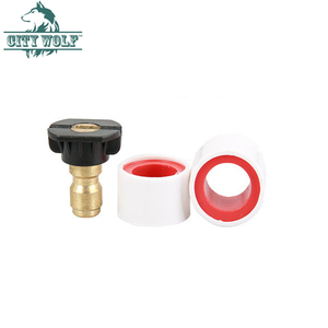 Image 3 - 3/8  quick connector adjustable valve suction tube soap and chemical injection high pressure washer accessory