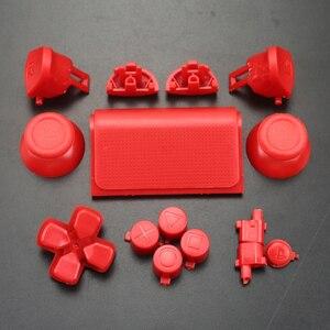 Image 3 - YuXi 풀 세트 조이스틱 Dpad R1 L1 R2 L2 방향 키 ABXY 버튼 jds 040 jds 040 Sony PS4 Pro 슬림 컨트롤러 용