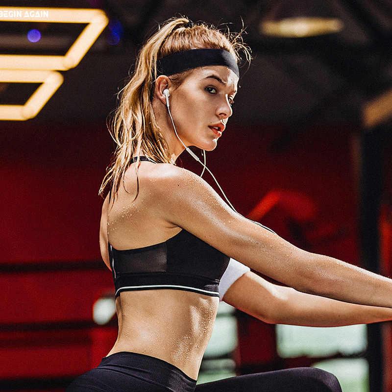 Diadema deporte hombres sudor bandas para el cabello cinta frente protección corriendo Fitness Yoga Tenis sobregrip mujer elástica Sweatband