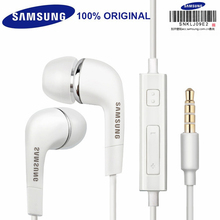 Original Samsung EHS64 Earphones With Built-in Microphone 3.5mm In-Ear Wired Headsets For Galaxy S5 S6 S7 S8 S9 huawei phone