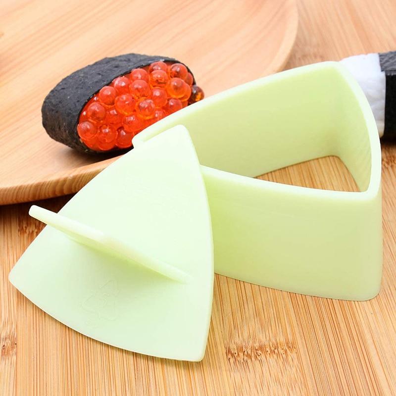Trilater форма для рисовый онигири мяч устройство для изготовления суши с антипригарным покрытием Кухня Суши набор для изготовления водорослей Пресс устройства пресс-форм для детей начинающих-2