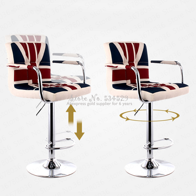 5% Home Bar Chair Lift Bar Chair Modern Minimalist Bar Chair High Bar Stool Back Stool Stool High Stool Front Desk Chair