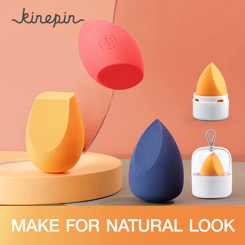 1PCS/3PCS Makeup Sponge For Foundations, Powders & Creams Soft Women Cosmetic Puff Blending Shape Make Up Tools & Accessories