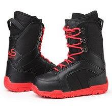 Новинка; мужские зимние лыжные ботинки; обувь для сноуборда; толстые Нескользящие Водонепроницаемые зимние ботинки; высокое качество; женские профессиональные лыжные ботинки; мужская обувь