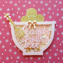 Baked With Love Bowl Shaker Metal Cutting Dies
