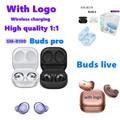 Высококачественные 1:1 наушники Pro/Buds +/BUDS Live Беспроводная bluetooth-гарнитура с беспроводной зарядкой для телефонов iOS и Android