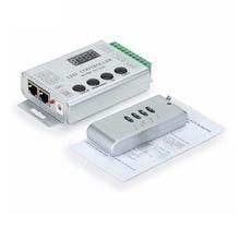 HC008 Keys RGB Led Pixel Controller Programmable Control 2048 Pixels 133 Effect Modes WS2811 WS2811 UCS1903 Controller hc008 4keys dc 5v 12v 24v programmable rgb led pixel controller 133 effect modes dimmer for ws2812 ws2811 2801 led strip light