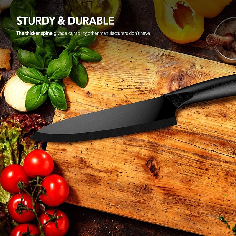 Ultra Sharp Kitchen Ceramic Knife 5 Piece Set