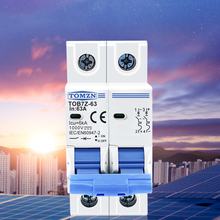 DC MCB Pv-System Mini-Circuit-Breaker Solar 16A 32A 1000V 63A 25A 40A 10A 20A 50A