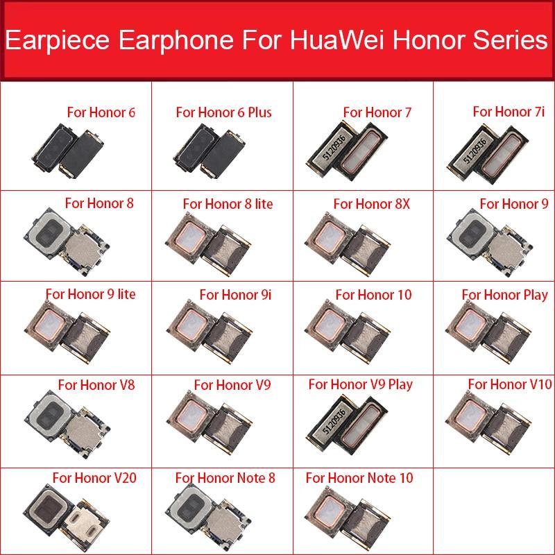 Earpiece Speaker For Huawei Honor 6 6plus 7 7i 8 8lite 8X 9 9lite 9i 10 10lite Note 8 10 Play V8 V9 Play V10 V20 Ear Speaker