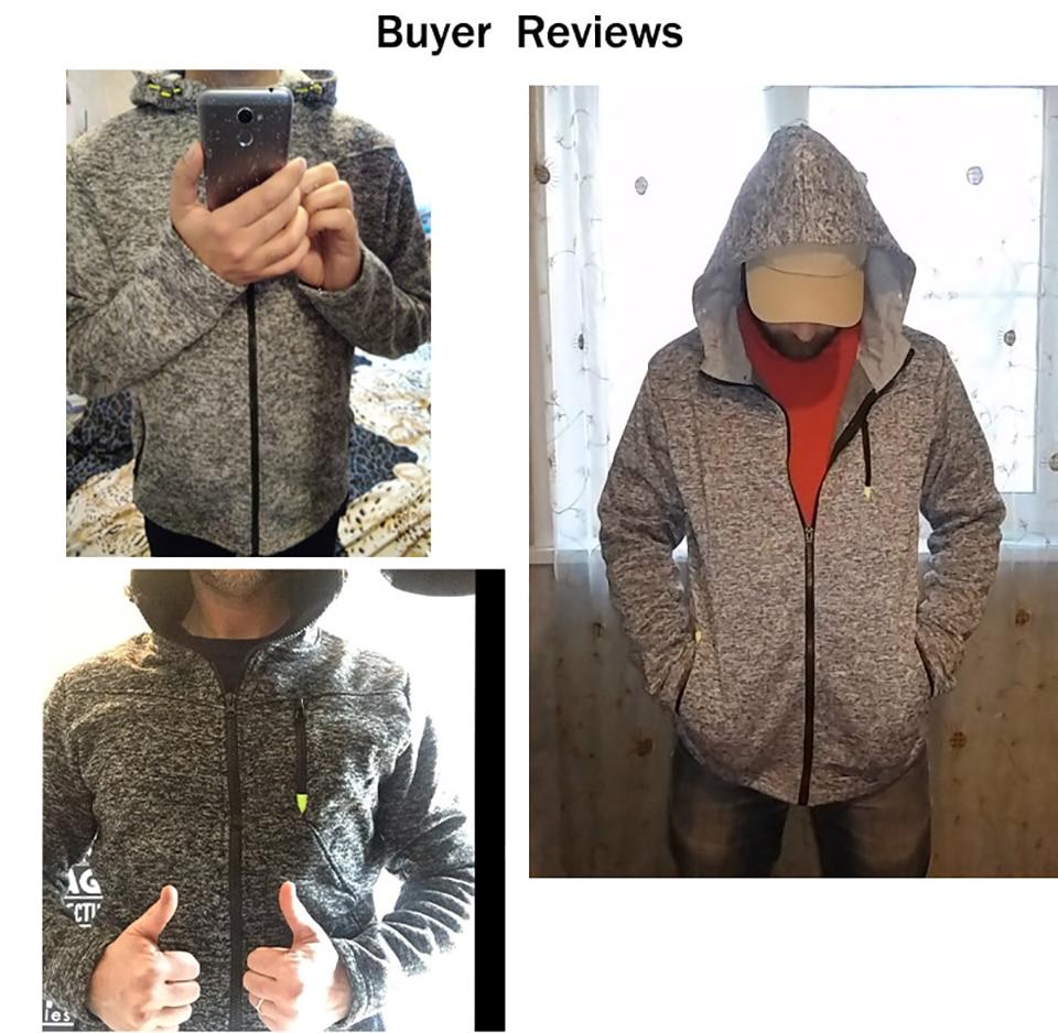 Men Sports Casual Wear Zipper Fashion Tide Jacquard Hoodies Fleece Jacket Fall Sweatshirts Autumn Winter Coat 14