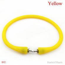 Оптовая продажа 75 дюйма/180 мм желтый резиновый силиконовый