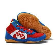 Ushine детская обувь для борьбы дышащие сетчатые боксерские