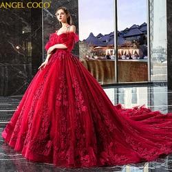 Schwangere Kleid Romantische Burgund Blume Mutterschaft Kleid Mode Elegent Luxus Langen Schwanz Kleid Schwangerschaft Kleid Robe De Mariee