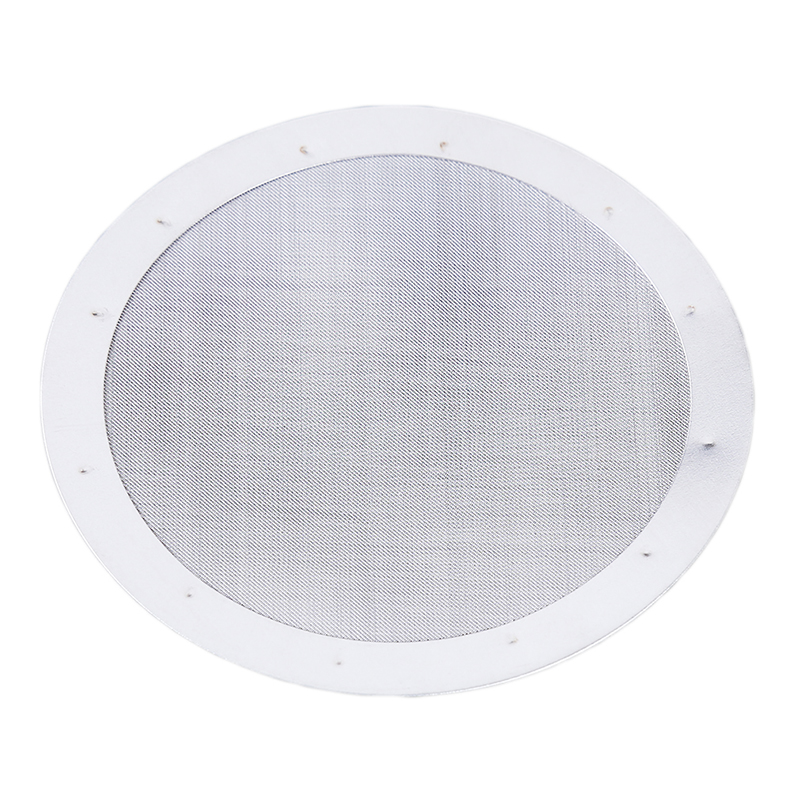 Новый Серебряный многоразовый тонкий металлический фильтр для кофе, сетка из нержавеющей стали для AeroPress, Кофеварка, кухонные аксессуары