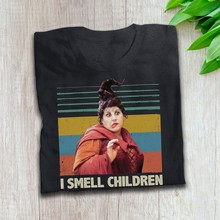 Mary Sanderson czarownica I zapach dzieci Horror Halloween T Shirt Hocus Pocus inspirowany film T Shirt